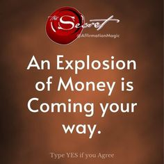Wealth Affirmations, Morning Affirmations, Positive Affirmations, Manifestation Law Of Attraction, Law Of Attraction Affirmations, Law Of Attraction Money, Law Of Attraction Quotes, Money Quotes, Quotes Quotes