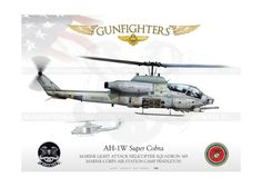 "AH-1W ""Cobra"" 21 HMLA-369 ""GUNFIGHTERS"" USMC JP-1065C"
