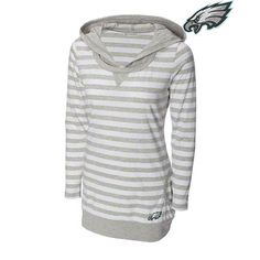 Philadelphia Eagles Women's  Topspin Hooded Sweatshirt