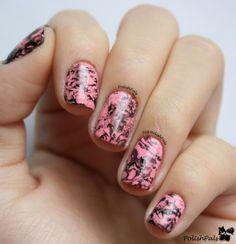 Polish Pals: Water Marble #Nails