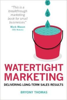 A review of Watertight Marketing from Suzan St Maur...