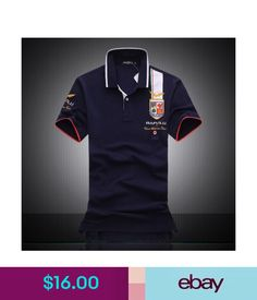a93addd75 Casual Shirts Bapalu Men s 100%Cotton Classic Casual Shirts Polo Summer Short  Sleeve T-Shirts  ebay  Fashion