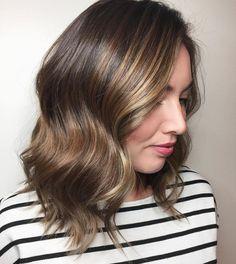 Brown Hair With Subtle Balayage