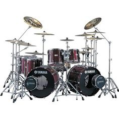 Yamaha Recording Custom Drum Set