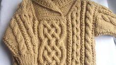 f64577e6a Liam child s aran sweater - knitting pattern at Makerist