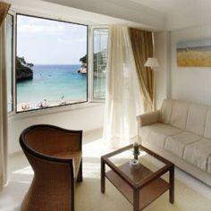 In den Suiten und Juniorsuiten wohnen Sie direkt am Strand.
