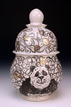 Panda Jar III - Roberto Lugo