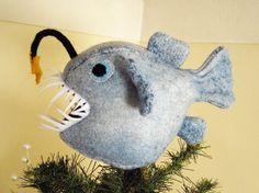 @: Deep Sea Christmas Tree Ornaments - Totally Stitchin...Totally Bitchin!