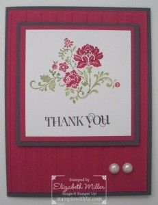 Stampin' Up! Fresh Vintage SAB Stamp set