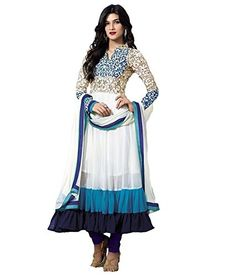 Lavri Women Georgette Heavy Designer Dress Material Lavri…