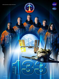 STS-133 Mission poster