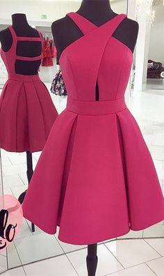 139 usd.Short Homecoming Dress,Mini Prom Dress,Open Back Party Dress Short,Short Graduation Dresses,Juniors Party Dresses