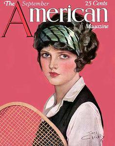 Earl Christy, American Magazine, 1920s by Gatochy, via Flickr