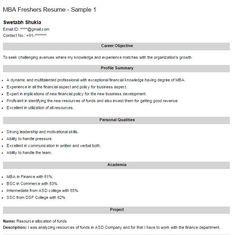 Resume Objectives For Freshers Amusing 55 Best Career Objectives Images On Pinterest  Admin Work .