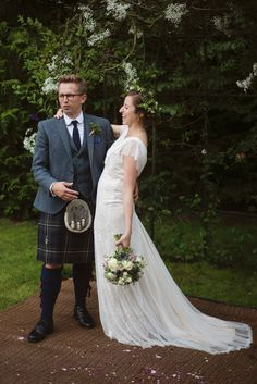 Bride and Groom from a Guardian Soulmates Wedding   Love My Dress® UK Wedding Blog