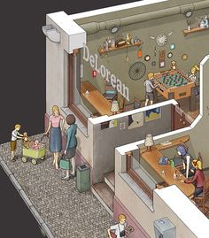 DeLorean Cafe on Behance