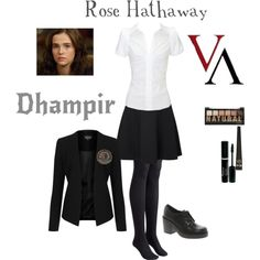 Vampire Academy - Rose Hathaway by gone-girl on Polyvore featuring mode, Karen Millen, Topshop, Vero Moda, Toast, ASOS and Barry M