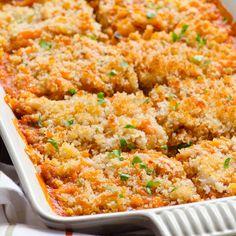 Spaghetti Squash and Turkey Cheese Bake Recipe | iFOODreal