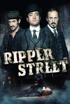 Ripper Street - gory corpses, but what an excellent series!