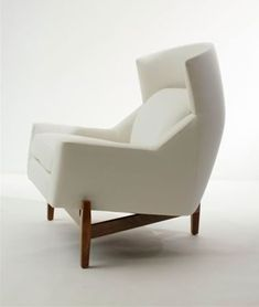 Wing chair by Jens Risom, available at Ralph Pucci.