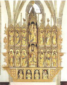 Domenico Da Tolmezzo - Altare ligneo - Zuglio