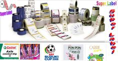 Super Labels Commercial label printing can print on larger stocks that are up to 8 inches wide. They can handle bigger volumes of printing compared to desktop label printers in Malaysia.