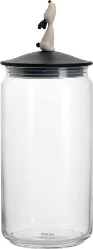 Miriam Mirri 51.5 Oz. Lulàjar Jar for Dog Food Color: Bla...
