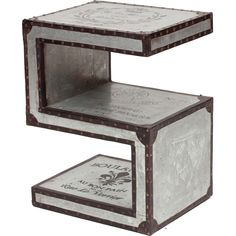S-Shaped Table - End Tables - Accent Tables - Furniture $605.00