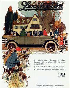 1918 Lexington Minuteman Six Advert