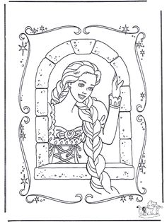 Fairy Tales Rapunzel Coloring Pages Free Printable For A Variety Themes That You Can Print Out And Color Kids Girls