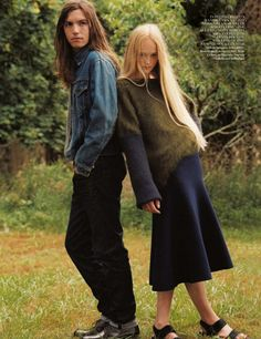 Jean Campbell by Bruce Weber for Vogue UK October 2013 4