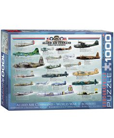 WWII Bomber Planes Puzzle
