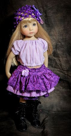 DMM Funky Frocks Outfit for Effner Little Darling City Shopping