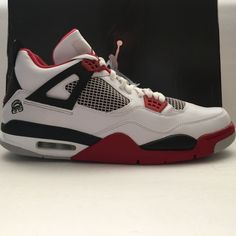 784a67f377f DS Nike Air Jordan 4 IV Retro Mars Blackmon Size 14