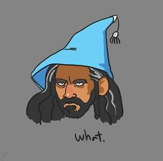 I can't say I'm disappointed the book!Thorin's hat of choice wasn't in the movie
