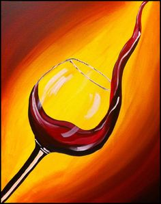 """Paint """"Pour Me A Glass"""" 2 panels glass of wine/beer & appetizers included) - Painting and Sipping Events (Renton, WA) - Meetup Easy Canvas Art, Easy Canvas Painting, Art Du Vin, Wine And Canvas, Wine Painting, Canvas Painting Tutorials, Wine Art, Local Deals, Mothers"""