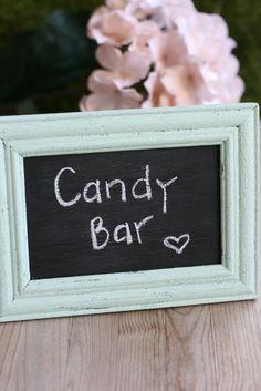 Personalizado tradicional Tea Party Sweet Candy Bar Mesa del buffet firmar Todos Los Colores