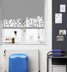 diy window treatments | DIY Window Treatment Ideas: Roller Shades | What the Vita