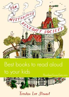 Best Books to read aloud to your kids - a list of 12 great novels for family reading. From Penelope Loves Lists.