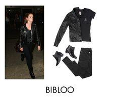 Black on black inspired by Emma Watson´s airport look Airport Look, Emma Watson, Goth, Inspired, Celebrities, Inspiration, Black, Style, Fashion