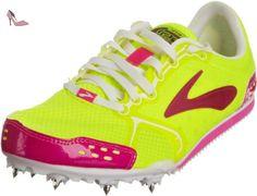 brooks pr ld chaussures de course pour femme rose pink nightlife pink