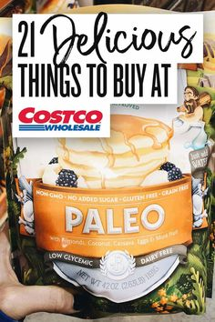 21 Delicious Best Buys at Costco for all things FOOD! From tasty frozen finds, to fresh produce - Costco has it all. Healthy Frozen Meals, Healthy Snacks To Buy, Healthy Shopping, Healthy Recipes, Healthy Eating, Vegan Shopping, Whole30 Recipes, Healthy Foods, Clean Eating
