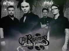 THE RASMUS band, rasmus, dead letters, aki hakala, pauli rantasalmi, eero heinonen,  lauri ylönen,  finnish, finland suomi rock band