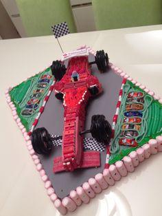 Tarta chuches Ferrari