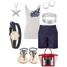 Blue, created by jparrett on Polyvore / naughtycal