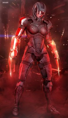 FemShep Sentinel II - Mass Effect (2016) by RedLineR91.devian... on @DeviantArt