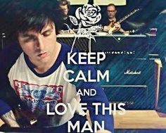 I'll try and keep calm, but when it comes to loving my man, I can't keep calm so well...