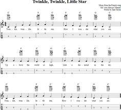 Twinkle, Twinkle, Little Star Ukulele