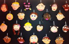 2nd Grade Art- crayola model magic clay self-portraits(art teacher: v. giannetto)