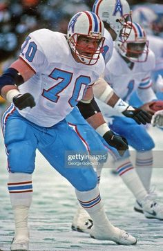 American Football League, National Football League, Football Is Life, Football Stuff, Nfl, Houston Oilers, Football Conference, Tennessee Titans, Lineman